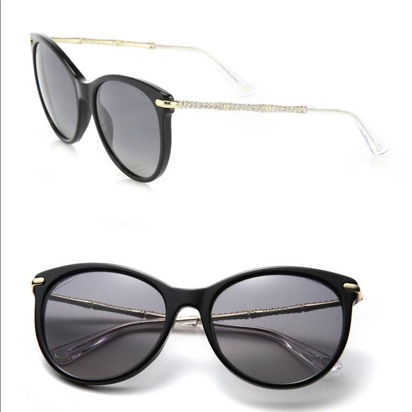 21047e133d GUCCI Swarovski Crystal 3771 n s Sunglasses NWT